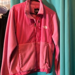 Pink North Face